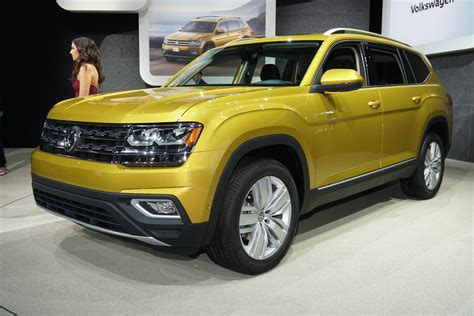 2018 Volkswagen Atlas (vw) Review, Ratings, Specs, Prices