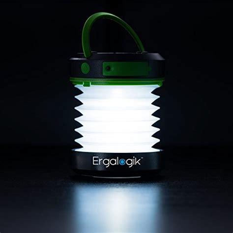 Ergalogik Compact Solar Camping Lantern With Usb Powerbank