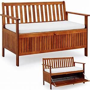 Banc Coffre Bois : banc en bois avec coffre ~ Teatrodelosmanantiales.com Idées de Décoration