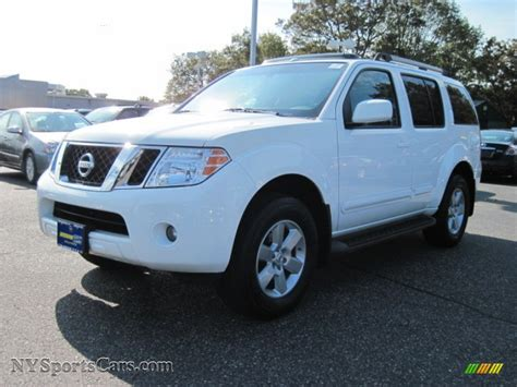 nissan 2008 white 2008 nissan pathfinder se 4x4 in avalanche white 646020