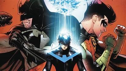 Nightwing Batman Comics Robin Dc Wallpapers Hood