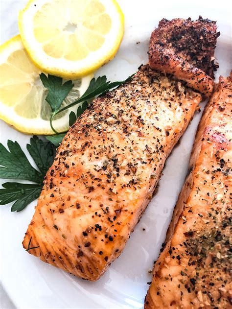 fryer salmon air recipe healthy moist seasoning flavor cooking cook diaries delicious juicy marinade comes every favorite