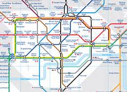 London Tube Map  Sourc...