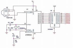 Circuit For Controlling 8 Appliances Using Tv Remote