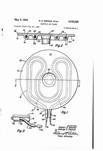 Patent Us3132229 - Electric Hot Plate