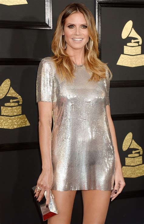 Heidi Klum Grammy Awards Los Angeles Celebzz