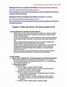 Biological Science Canadian 2nd Edition Freeman Solutions