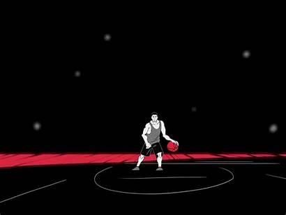 Basketball Dribbble Animation 2d Ball Motion Classic