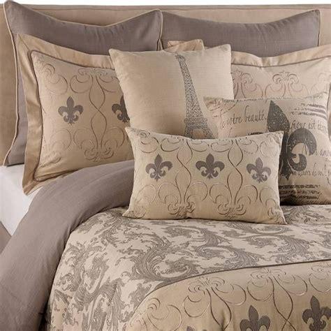 product image  fleur de lis comforter set comforter