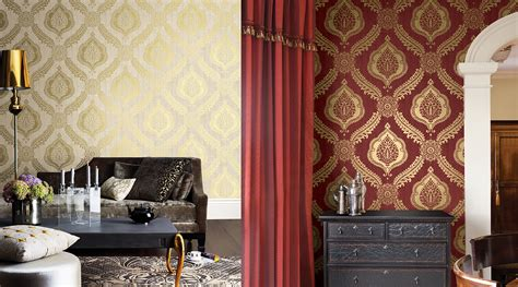 silver wallpaper living room ideas home vibrant red