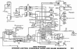 1968 Mustang Wiring Diagram Schematic