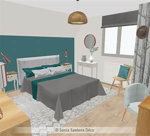 Deco Chambre Ami : sonia saelens d co ~ Melissatoandfro.com Idées de Décoration