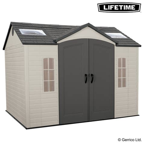 lifetime 10x8 single entry shed 60005