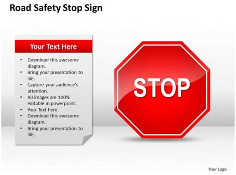 strategic management consulting safety stop sign