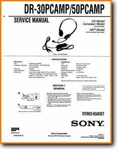 Sony Dr-50-pcamp Headphones