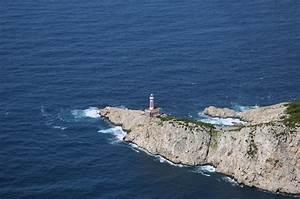 Porta Carena Capri Light Lighthouse In Capri Italy