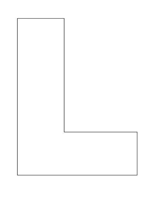 letter a template 8 best images of letter l template printable letter l craft template free printable alphabet