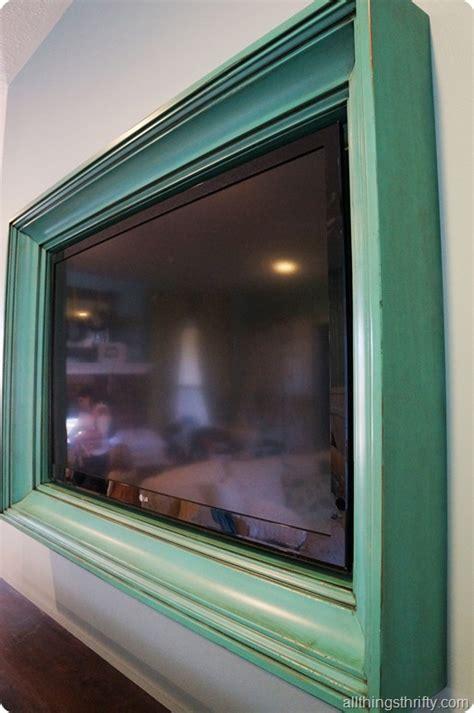 Custom Tv Frame By Aspen Mills
