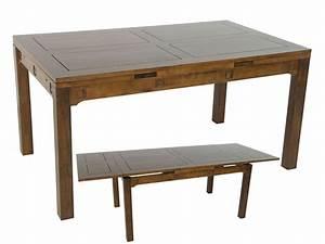 Table A Manger Rectangulaire : table rectangulaire en hva pattani 2 de qualit de thalande meuble de salle manger lotusa ~ Teatrodelosmanantiales.com Idées de Décoration