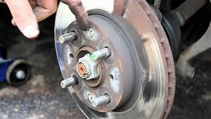 How To Change Front Brakes Honda Civic 92-95