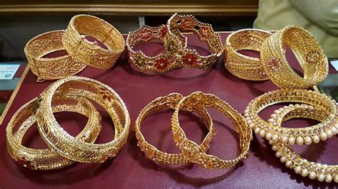 silver gold plated bangles set designs latest jewelry