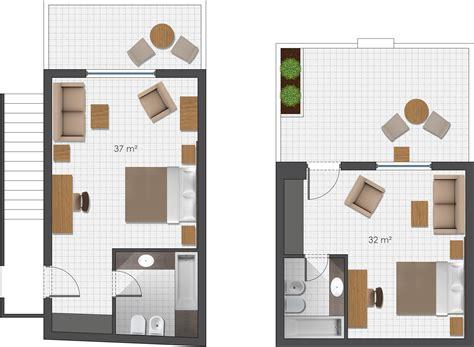 plan chambre hotel hébergement de luxe à l 39 île de bungalows