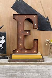 marquee letters e 12in battery operated 17 warm white led With marquee letter hook