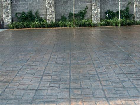 patios andadores y calles pisos estados de concreto