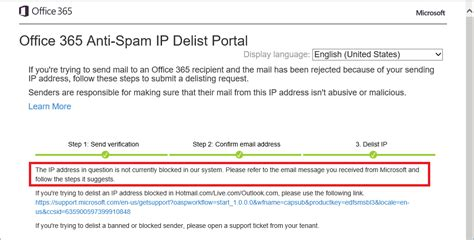 Office 365 Email Java by How To Confirm If Your Ip Address Is Blocked By Exchange