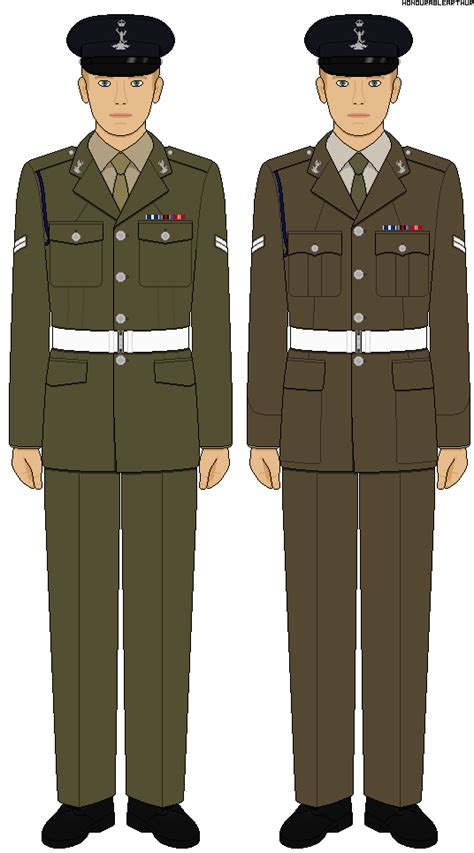 Or Ranks British Army British Army No 2 Uniform Other Ranks By