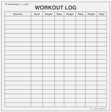 smart printable workout log ripp
