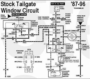 Ford Bronco Tailgate Wiring Diagram