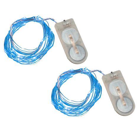 lumabase 40 light mini battery operated waterproof string