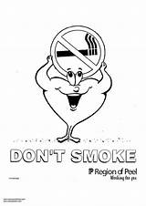 Coloring Smoke Don Smoking Designlooter Printable Getdrawings Getcolorings 750px 26kb sketch template