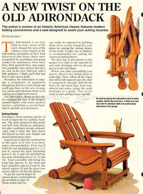 Adirondack Loveseat Plans by 18 How To Build An Adirondack Chair Plans Ideas Easy