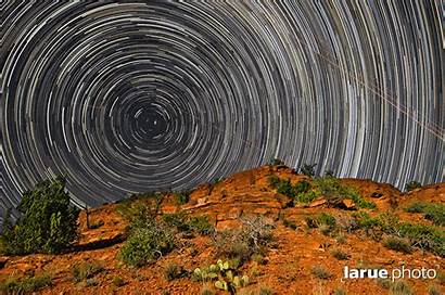 Star Trails Animated Sedona North Sky Timelapse