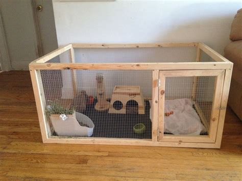 De 25+ Bedste Idéer Til Indoor Rabbit Cage På Pinterest