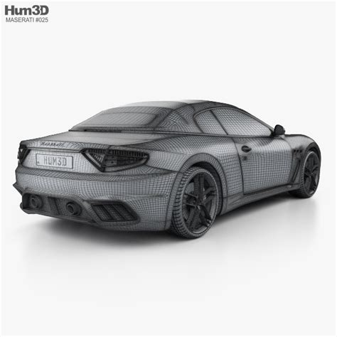 Maserati 2013 Models by Maserati Grancabrio Mc 2013 3d Model Hum3d