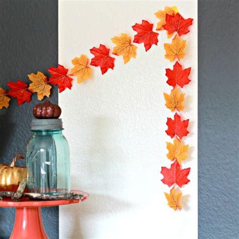 fall garland ideas 26 diy leaf garland ideas guide patterns