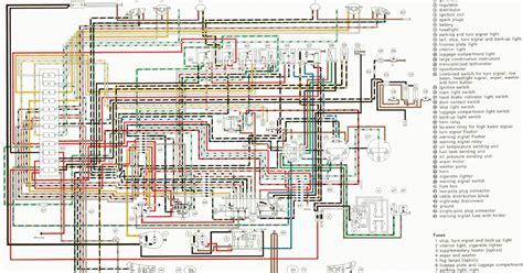 auto wiring diagram  porsche wiring diagram