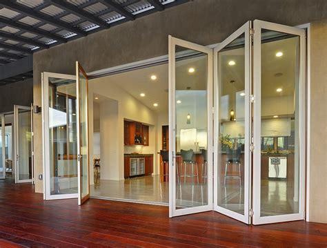 folding glass doors crl arch bi folding glass doors pertaining to door designs