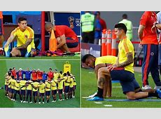 Colombia hopeful James Rodriguez will be fit to face