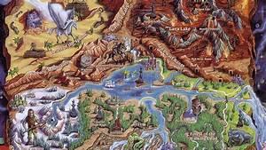 A Tribute To Old Video Game Maps Kotaku Australia