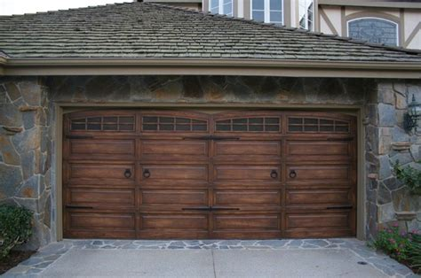 faux wood garage doors wood furniture finishes faux traditional shed