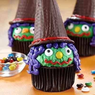 halloween witch cupcakes recipe land olakes