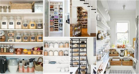 Useful Tips From The Perfectly Organized Pantries