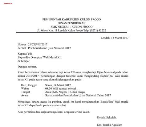contoh surat edaran dinas pemerintah contoh ilb