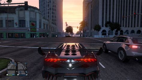 gta  test drives lamborghini veneno youtube