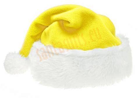 yellow santa s hat santa suits