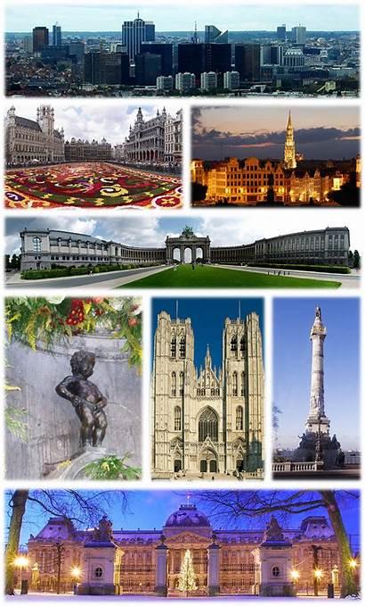 Brussels Wikipedia Collage Belgium Capital Bruxelles Region